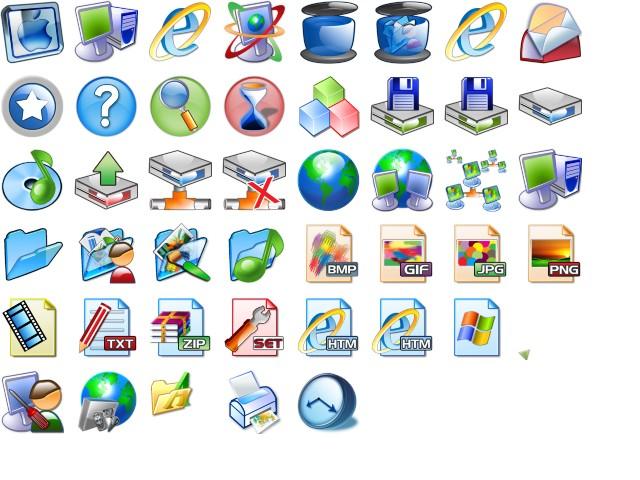 Картинка на значок папки для windows 7