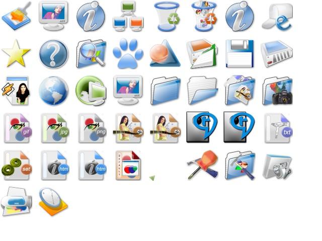 Как сделать значки для windows xp 688
