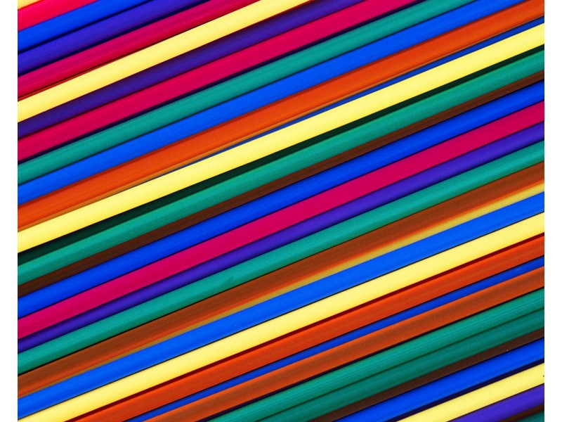 Colourful Straws