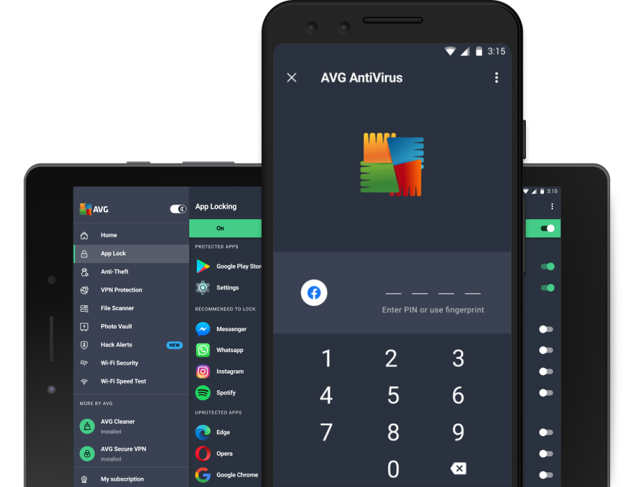 Free Antivirus for Android   AVG Mobile Security App