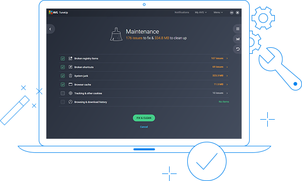 AVG TuneUp | Clean & Speed Up Your PC | Free Download