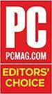 2017 年 PC PCMag エディターズ チョイス受賞