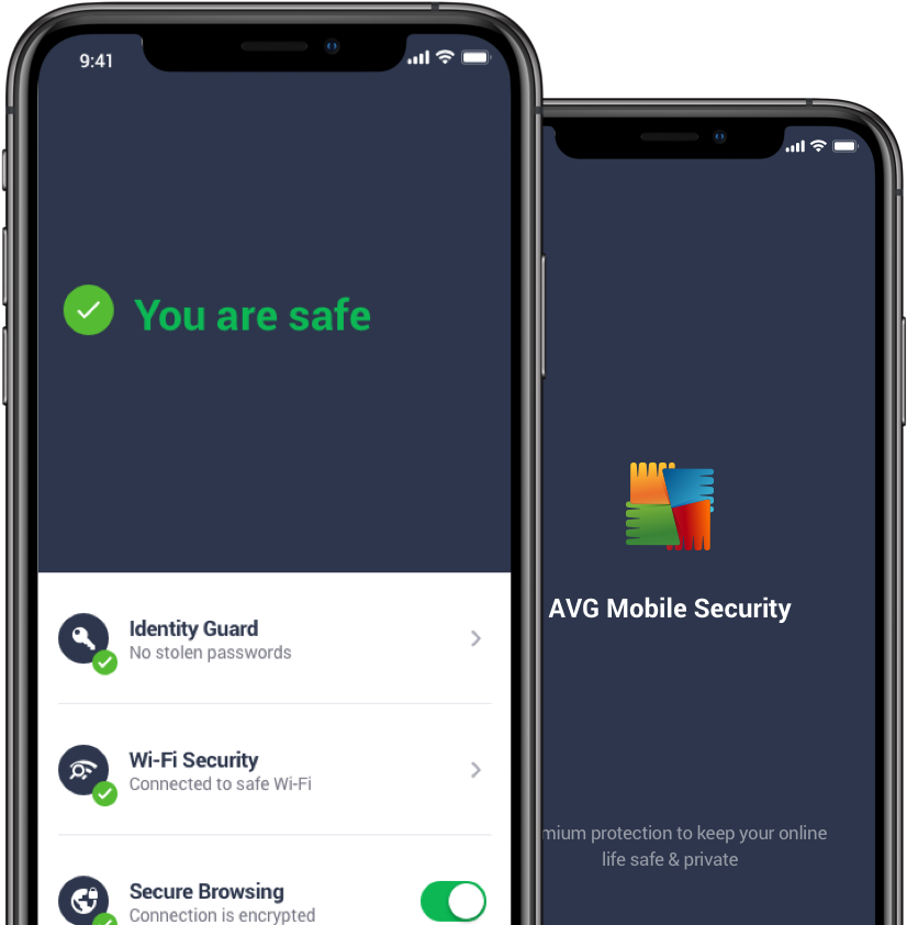 You are safe - AVG Internet Security