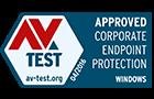 AV-Test: goedgekeurd voor Windows-eindpuntbescherming bij bedrijven - maart 2016