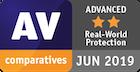 Оценка Advanced по результатам теста Real-World Protection