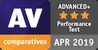 Оценка Advanced+ в категории «Производительность»