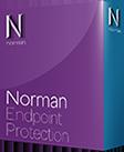 captura de la caja de Norman Endpoint Protection