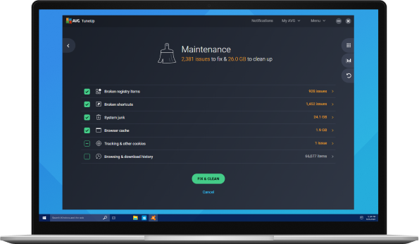 Automatically fix and maintain your PC