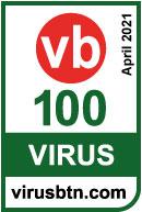 Riconoscimento Virus Bulletin 100