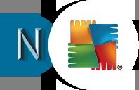 Logo's Norman en AVG