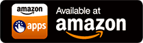 Button Amazon Appstore for Android, 168 x 56 px