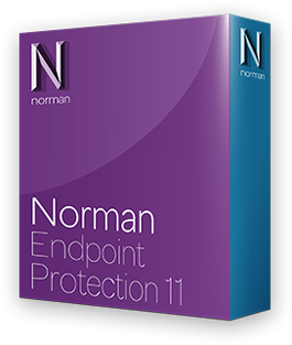 Boxshot Norman Endpoint Protection shadow