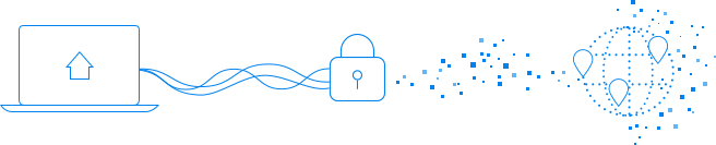 What is a VPN illustration
