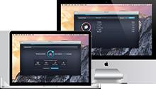 Mac ve Macbook kılavuzları arayüzü, 220 x 125 piksel