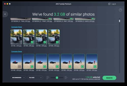 Otimize a sua biblioteca de fotografias