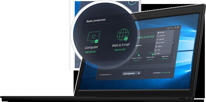 UI Sécurité avancée facile à gérer pour votre entreprise.