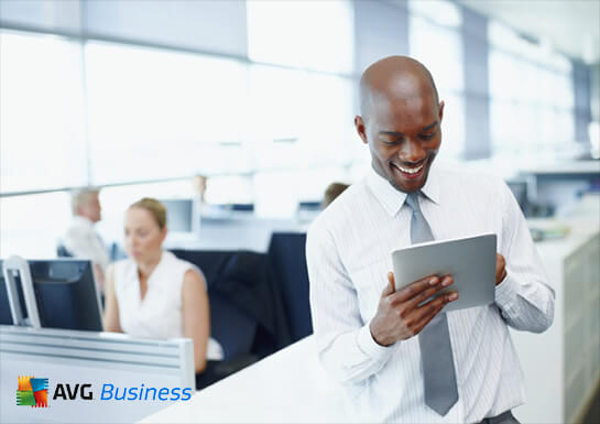 Použití vlastních zaměstnaneckých zařízení ve firmě, muž