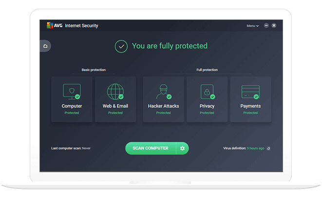 Avg Internet Security Software Online Protection Free Trial
