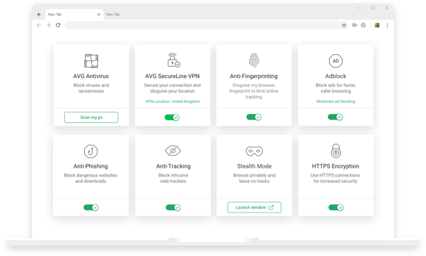 All your security & privacy tools in one place