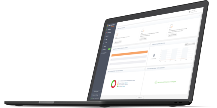 UI New AVG Business Cloud Management Console Features
