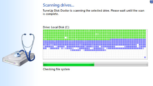 Scanning Drivers UI
