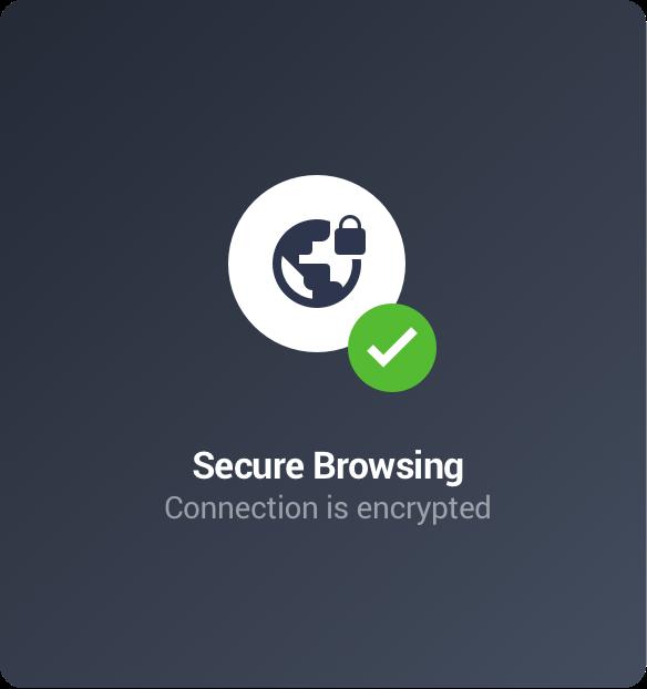 Navegue de forma privada com uma VPN