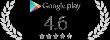 Google Play のレーティング