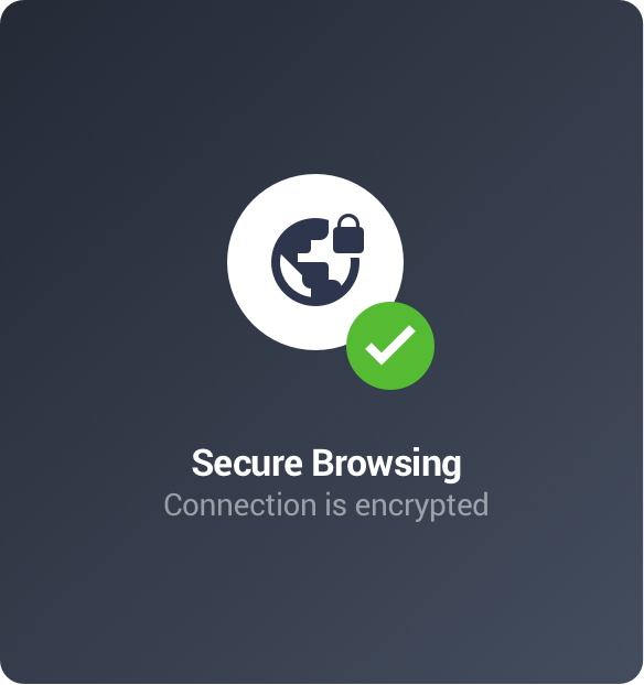 Browse privately with a VPN