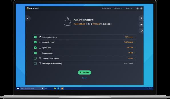 Automatizza le attività di correzione dei problemi e manutenzione del PC