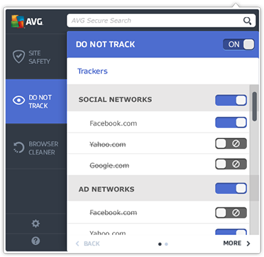 Web Tuneup Do Not Track