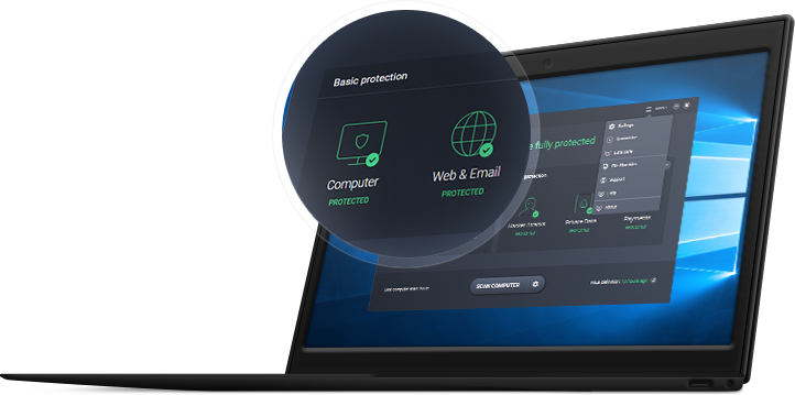 UI Mudah digunakan untuk mengatur keamanan untuk bisnis Anda.