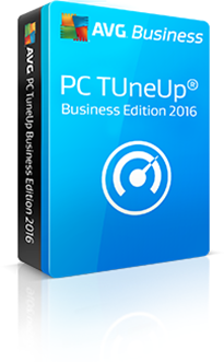 Boxshot PC TuneUP Business Edition met reflectie