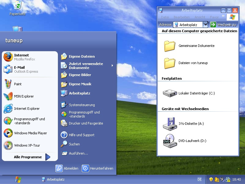 Windows MAX 2003