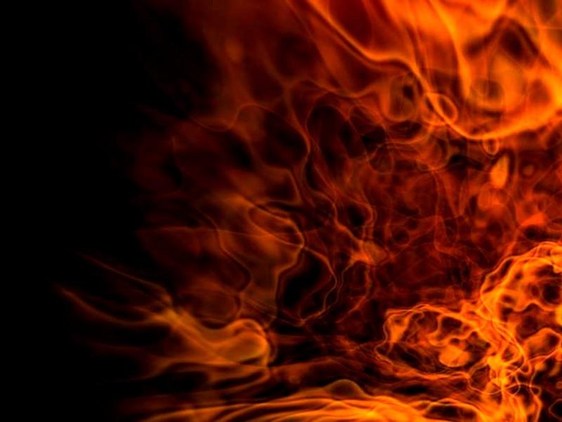 Flaming Wall