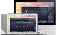 Interfaccia di Cleaner per Mac