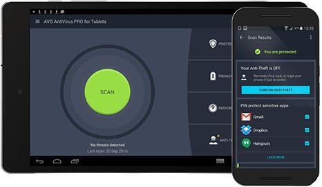 avg antivirus for android tablet