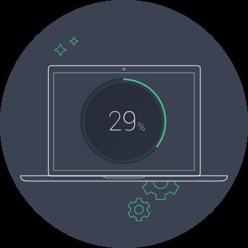 Aproveite nosso limpador totalmente automatizado para Mac