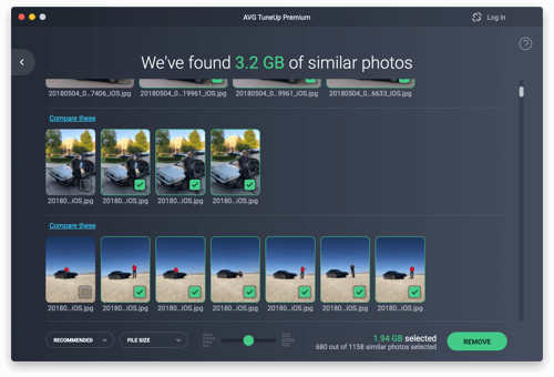 写真ライブラリを合理化