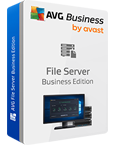 AVG File Server Edition 盒裝照片