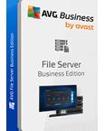AVG ファイル サーバー エディションの製品パッケージ画像