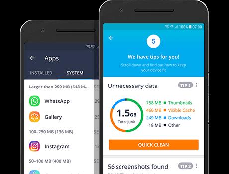 AVG Cleaner Android 版可防止資源佔用情況