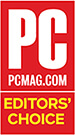 Награда «Выбор редактора» от PCMag для ПК, 2017г.