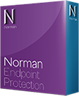 captura de la caja de Norman Endpoint Protection