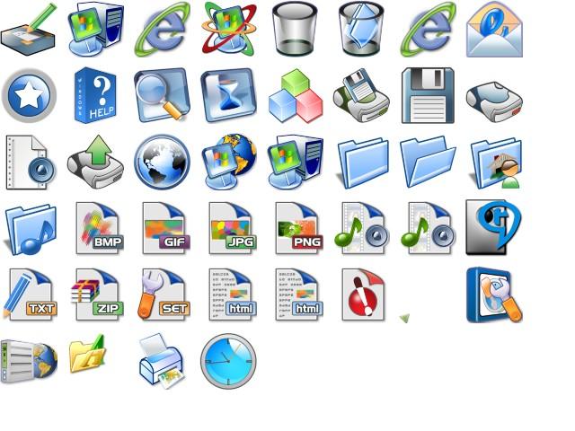 Icon pack Windows Xp