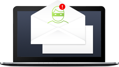 UI Notebook with envelopes anti spyware
