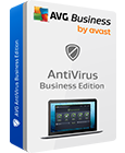Snímek krabice produktu AVG AntiVirus Business Edition