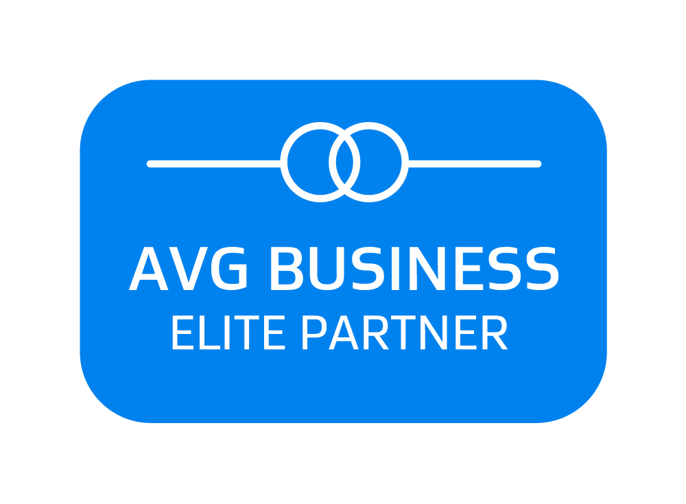 AVG Business Elite Partner badge