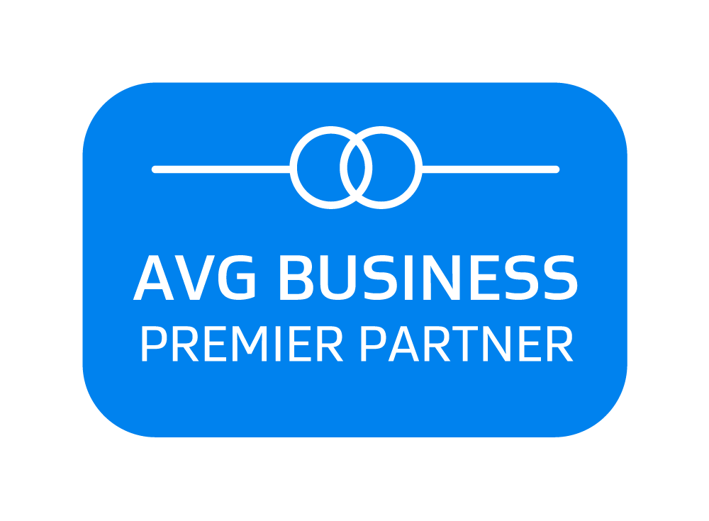 AVG Business Premier Partner badge