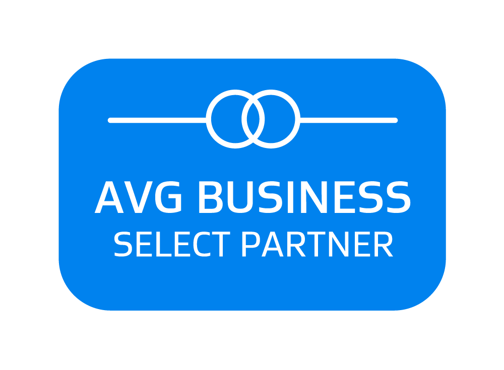 AVG Business Select Partner badge