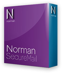 Boxshot Norman Secure Mail shadow
